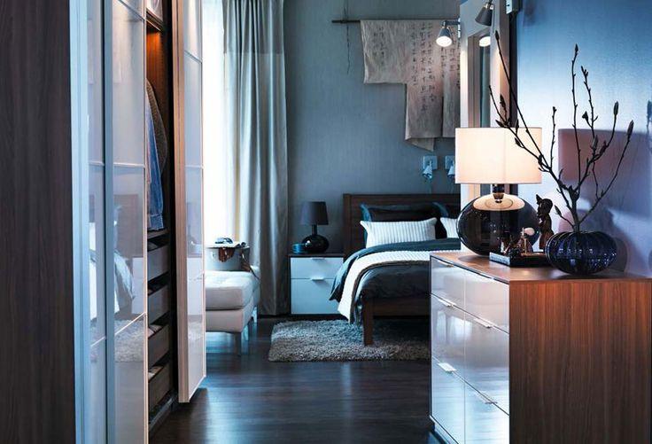 Classy IKEA Bedroom Design with Wooden Furniture – IKEA Bedroom Design Ideas