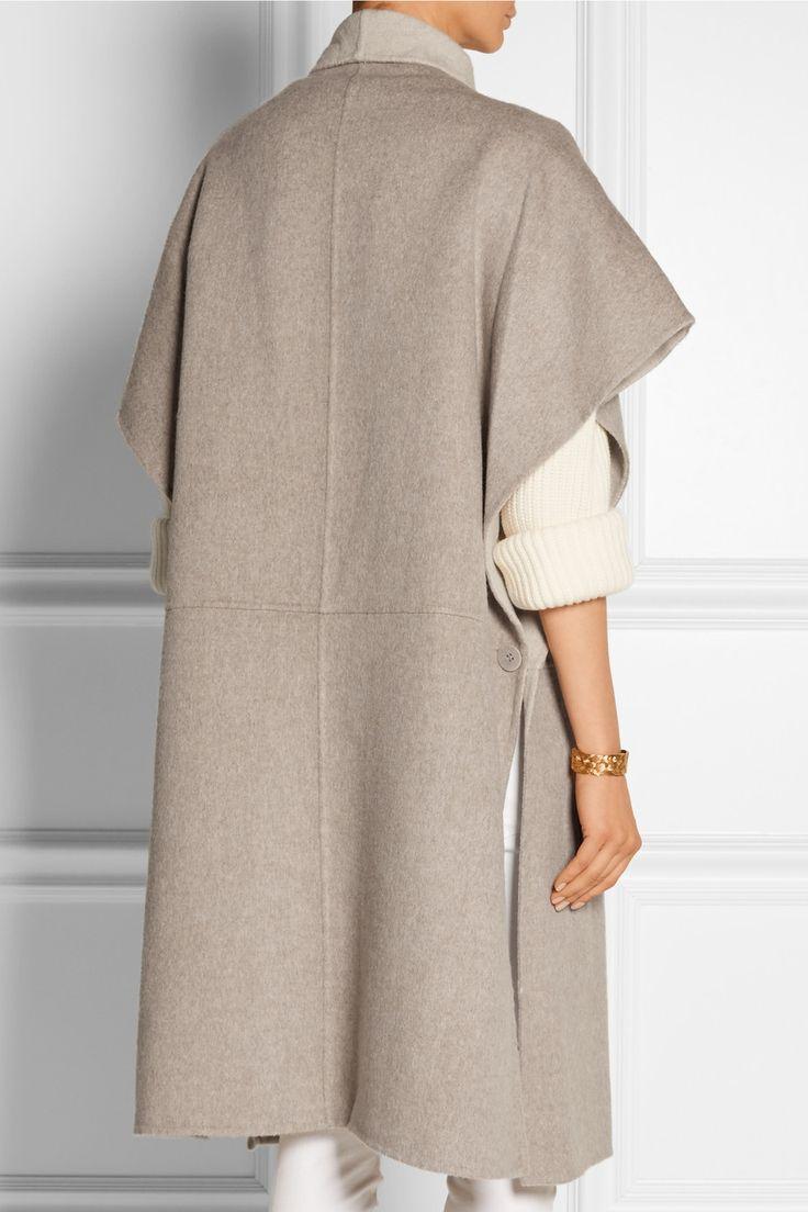 Tibi | Reversible wool and angora-blend coat | NET-A-PORTER.COM