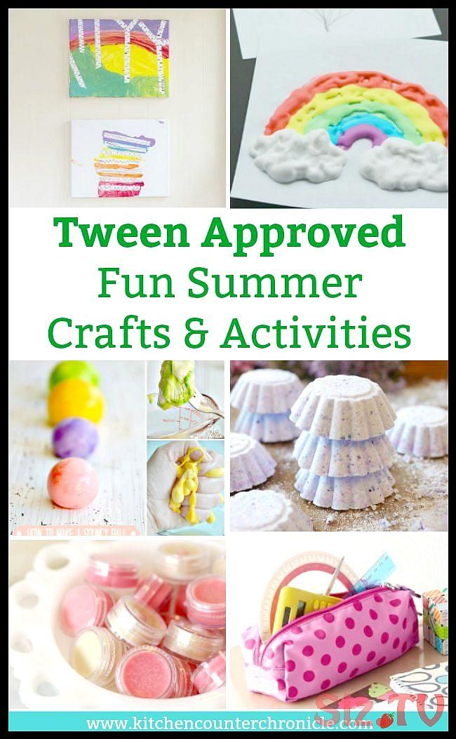 The Best Summer Crafts For Tweens Totally Tween Approved The Best