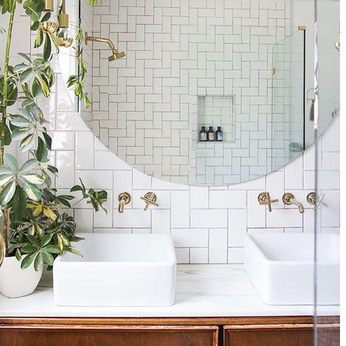 pin by the vitalounge on instagram highlights bathroom plants bathroom bathroom inspo. Black Bedroom Furniture Sets. Home Design Ideas