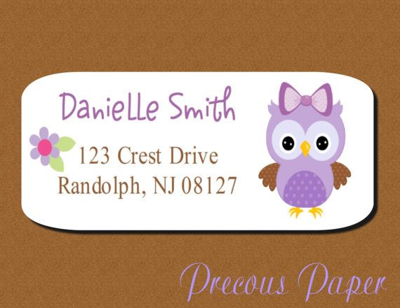 21 best Address labels images on Pinterest Printable labels - free address labels samples