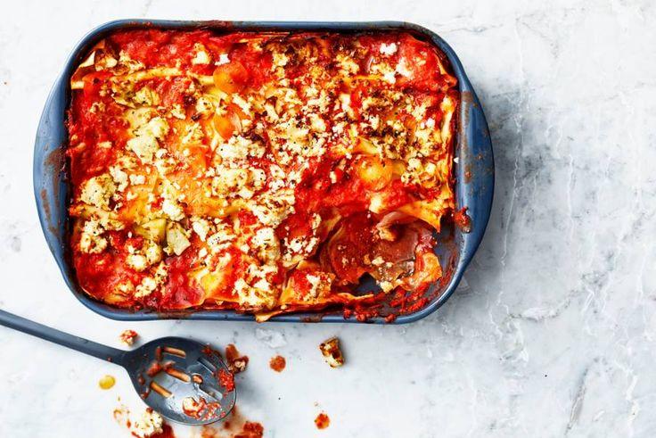 Comfortfood! Deze lasagne met wintergroenten is altijd een succes - Rcept - Allerhande