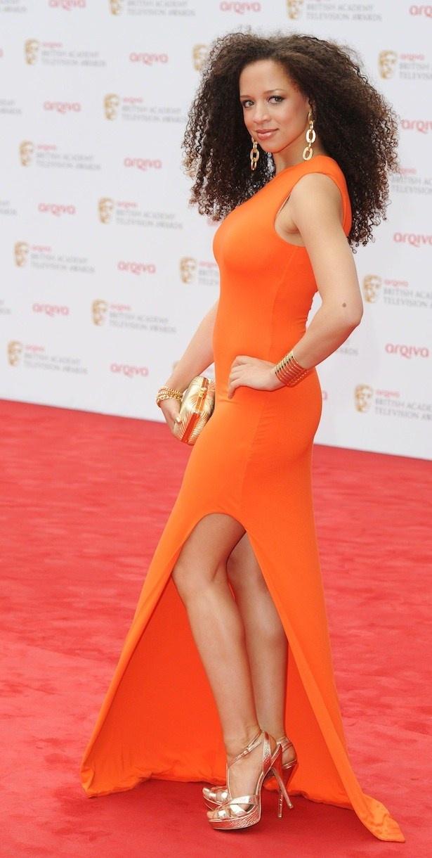 NATALIE GUMEDE- BAFTAS 2013