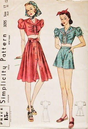 The Girl with the Star-Spangled Heart: The Glamorous 30's Playsuit