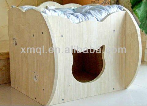 Camas de perros en madera buscar con google casita - Hacer una cama de madera ...