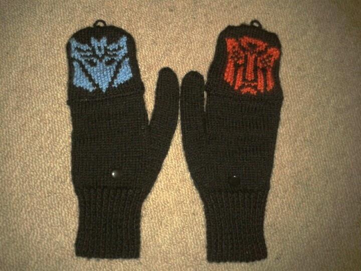 Transforming gloves