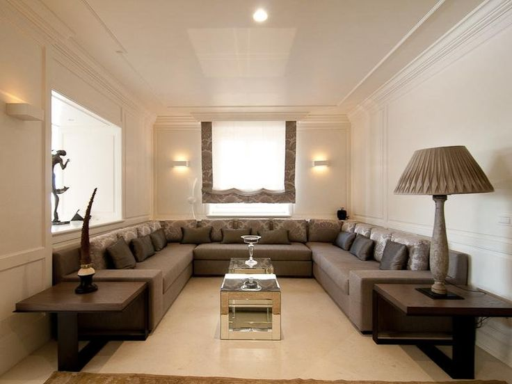 nice arrangement for that odd bedroom off of a kitchen that you just do not know what to do with. a lounge, media room.