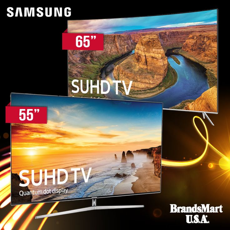 Samsung Quantum 4K SUHD TVs at Black Friday Pricing  Up to $600 Off - Both qualify for Free Shipping  See accurate shades and lifelike colors come alive in detail with SUHD Quantum Dot Color that unlocks up to a billion color combinations. See the sunlight in its full radiant glory and find the small detail in the dark shadows with Samsung's best HDR innovation, HDR 1000.