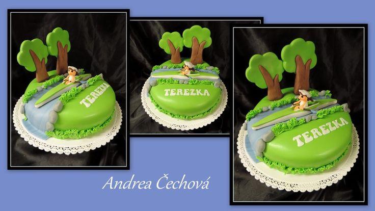 dort kanoistika, canoeing cake
