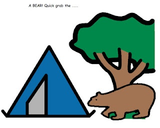 Articulation activities to go along with We're Going On A Bear Hunt. Repinned by SOS Inc. Resources.  Follow all our boards at http://pinterest.com/sostherapy  for therapy resources.