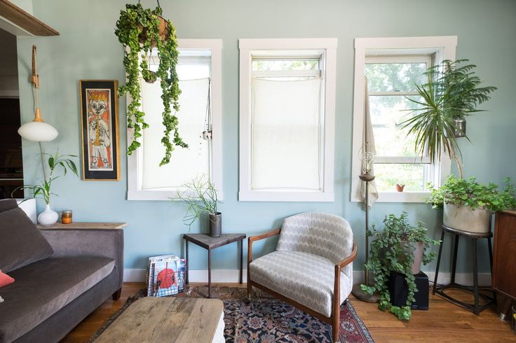 Liz & Adam's Eclectic Home With a Modern Sensibility (and a Treehouse!)