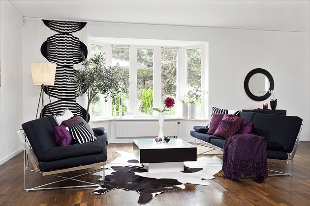 purple black living room purple and white living room 13286