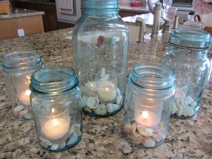 72 best seashell decorating ideas images on pinterest for Ideas for displaying seashells
