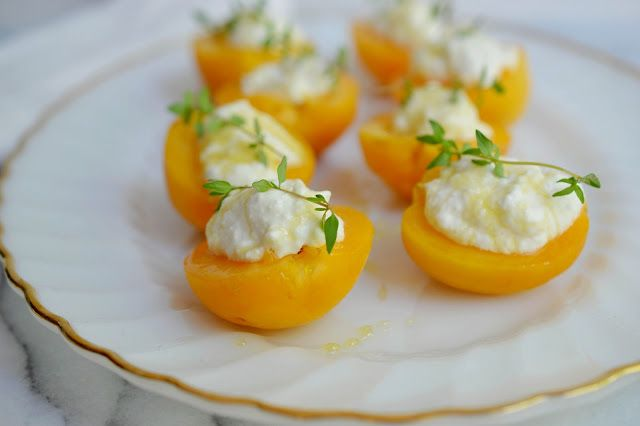 Ricotta & Apricot 'Crostini' | Foodie Delights | Pinterest