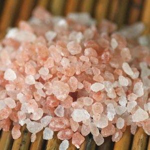 The Benefits of Himalayan Salt Site contains an advert, but Himalayan pink salt can be bought cheaply at Trader Joe's.