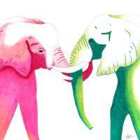 Elephant Love By Briony Nolan www.brionynolan.com
