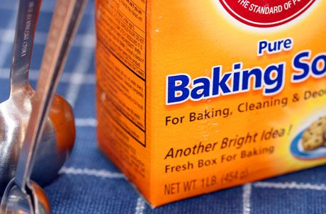 clean with baking soda