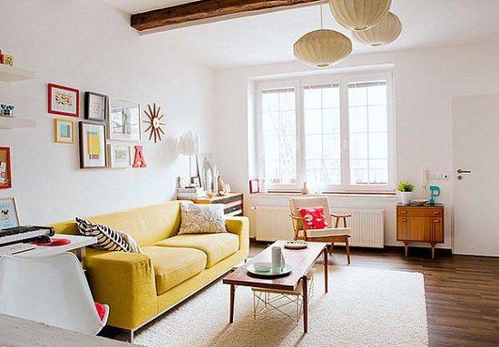 I consigli e le idee per decorare una casa con le pareti bianche e renderla colorata e originale