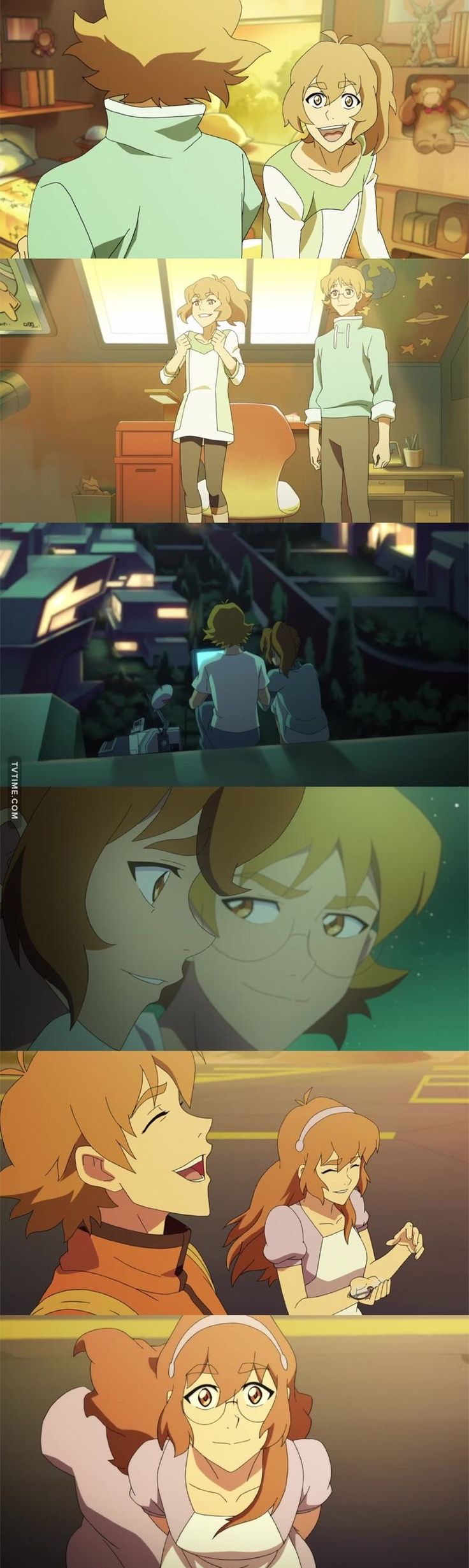 "VLD S4 - 04x02 Pidge/Katie and Matt ""Reunion: Memories of the Holt siblings"""