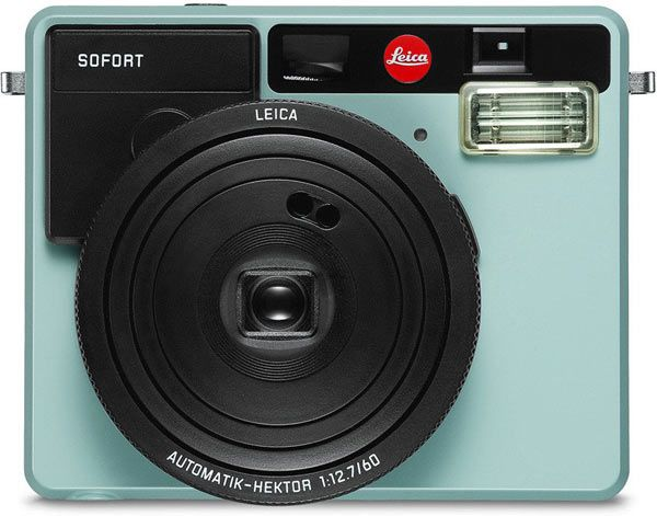 Leica SOFORT, mint. Leica SOFORT, the Instant Picture Camera for Instant Film Photography: Optical Viewfinder; Shooting Modes Include 'Party', 'Self-Portrait', 'Sport' or 'Macro'; Leica Instant Film Packs Available in both Color & Monochrom http://www.photoxels.com/leica-sofort-camera/