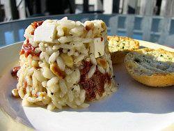 Vegetarisch recept: Risotto met feta en zongedroogde tomaat