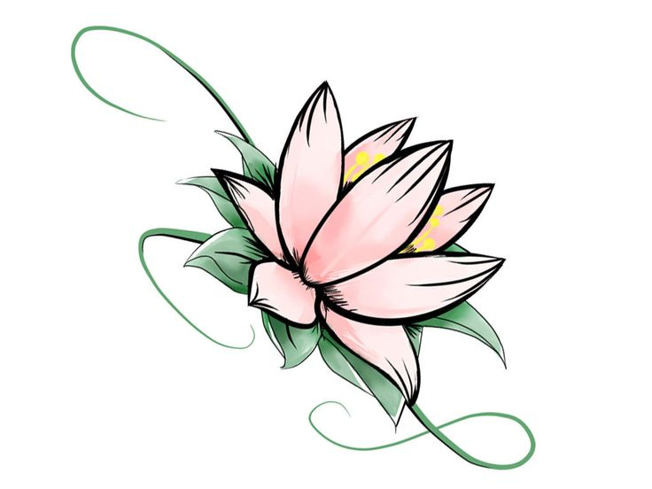peacock indian stencil | Free designs - Colorful lotus with stem tattoo wallpaper