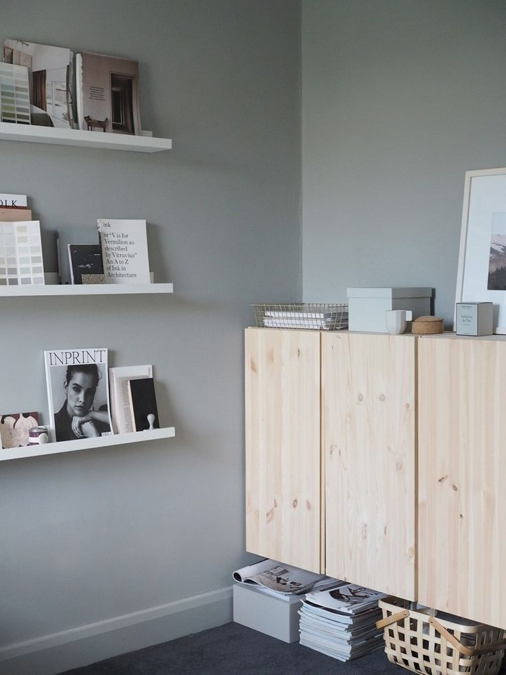 A cosy, grey home office for a freelance creative – my makeover reveal
