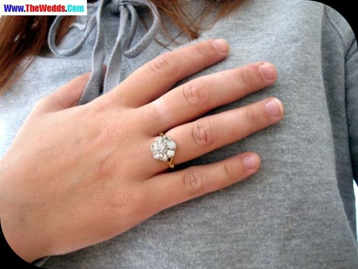 Diamond Wedding Ring On Right Hand