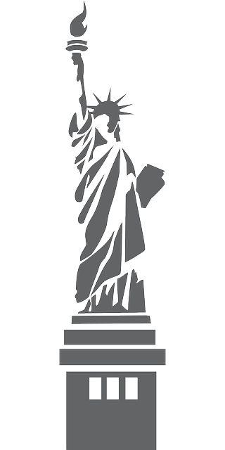 Percepción de contorno: En esta imagen se percibe el contorno de la estatua de La Libertad, resalta y se distingue del fondo.