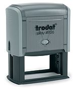 """Trodat 4926 Custom Self-Inking Stamp 1-1/2"""" x 3"""". Our largest Printy stamp. Very durable and made for large impressions. Up to six line of copy."""