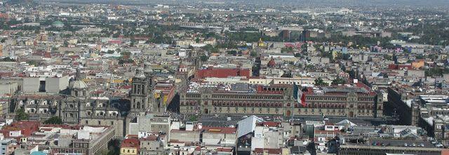 Miasto Meksyk - Zocalo / Mexico City