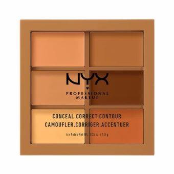 จัดเลย  นิกซ์ โปรเฟสชั่นแนล เมคอัพ คอนซีล คอเร็คท์ คอนทัวร์ พาเล็ท - 3CP03ดีพ NYX Professional Makeup Conceal, Correct, Contour Palette -3CP03 Deep  ราคาเพียง  545 บาท  เท่านั้น คุณสมบัติ มีดังนี้ ติดทนนาน ใช้ง่าย พกพาสะดวก