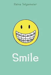 Smile, by Raina Telgemeier - kids absolutely love this book! Relate to the characters, situations, story - just fantastic!