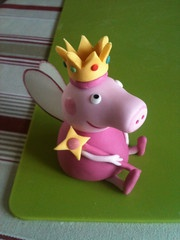 Peppa pig topper tutorial on youtube