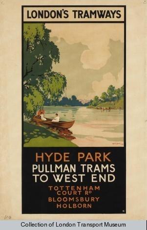 Hyde Park Rene Blair 1931.