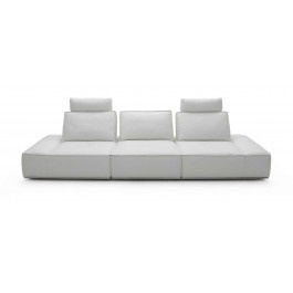 Orchid - Modern White Italian Leather Sofa - 3150.0000
