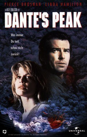 Dante's Peak - 1997 - This was one of my son's favorite movies when he was younger.  He loved the scene where the red chevy Suburban gets stuck in the river before pulling free.  As far as disaster movies go, it ranks up there with the best.