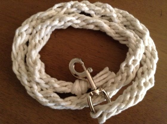 DIY Craft for Kids, Gift idea: Horse Lead Rope #diy