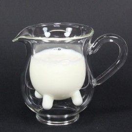 Pot à lait pis de vache calf and half