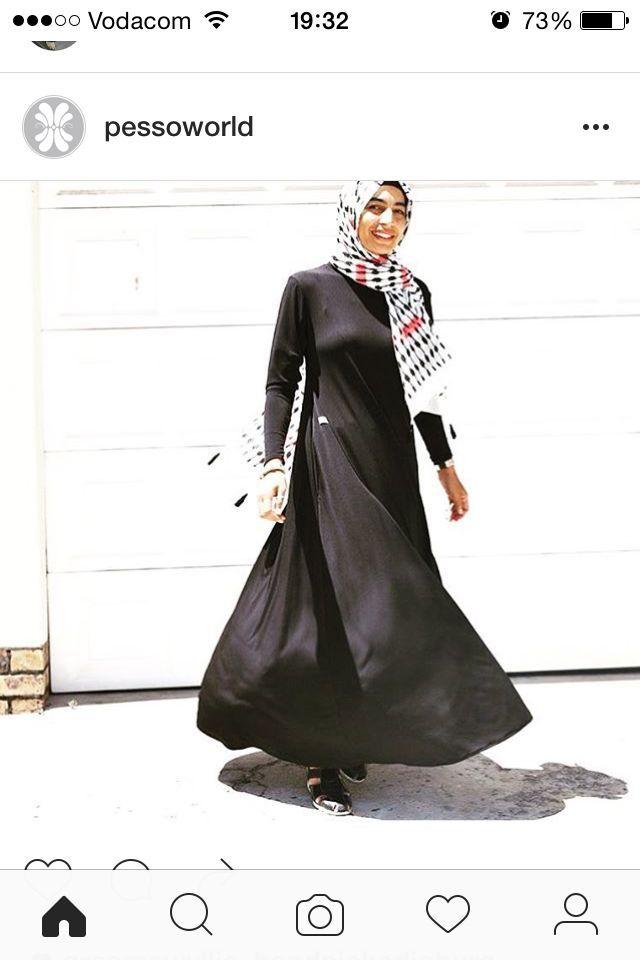 LBD - Legendary Black Dress www.fabulousinhijab.co.za 084-553-1694