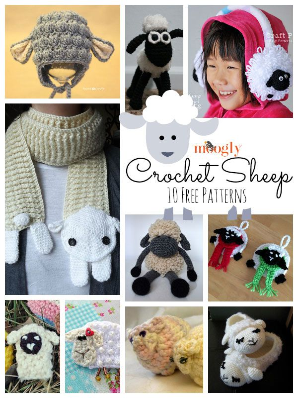 Crochet Pattern For A Lamb Hat : 1000+ images about Free Crochet patterns on Pinterest ...