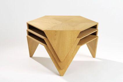 tna design studio // Hexad low tables