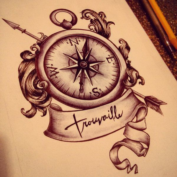 Beautiful compass, & I love the scroll work around it beautiful without being too fussy Compassrose by mmpninja.deviantart.com on @deviantART
