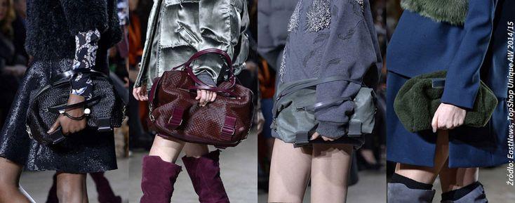 Modne torebki na zimę 2014/15 - Trendy w modzie - Domodi.pl