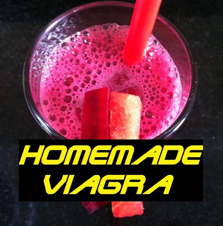 Natural viagra recipe
