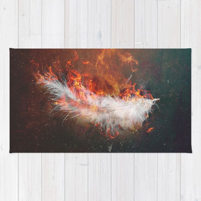 Icarus Rug by HappyMelvin | Society6
