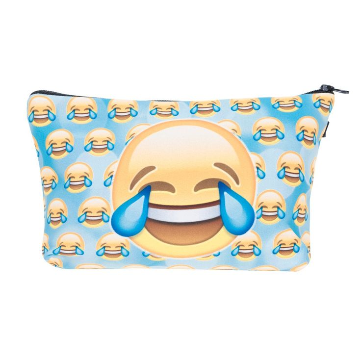 women cosmetic bags travel Picture - More Detailed Picture about Emoji tears Printing Necessaire Women Cosmetics Bags Travel Make up Bag Organizer Maleta de Maquiagem Organizador Makeup Bag Picture in Cosmetic Bags & Cases from who cares luggage & bags store | Aliexpress.com | Alibaba Group