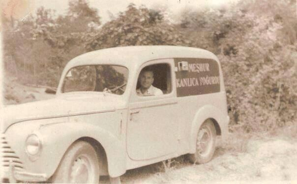 1950lerde bir yoğurt satıcısı