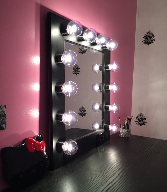 free shipping vanity mirror with lightsavailable by customvanity makeup p. Black Bedroom Furniture Sets. Home Design Ideas