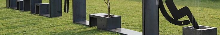Nessie - modular system for #Landscape #Architecture  www.officinamarocchi.it
